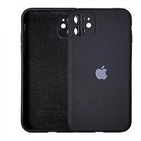 Чехол накладка Silicone Case для Apple iPhone 11 Black