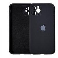 Чехол накладка Silicone Case для Apple iPhone 11 Pro Black