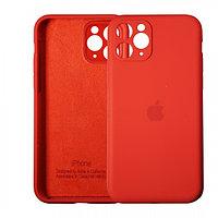 Чехол накладка Silicone Case для Apple iPhone 11 Pro Red
