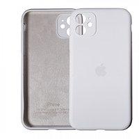 Чехол накладка Silicone Case для Apple iPhone 11 Pro White