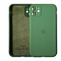 Чехол накладка Silicone Case для Apple iPhone 11 Green