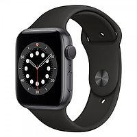 Смарт-часы Apple Watch Series 6 44mm Space Gray Aluminium Case with Sport Band M00H3GK/A Black
