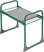 Складная скамейка перевертыш Ника СКМ/З мягкая, зеленая