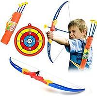 Детский игровой набор лук со стрелами и мишенью модель: NO.AY665-3