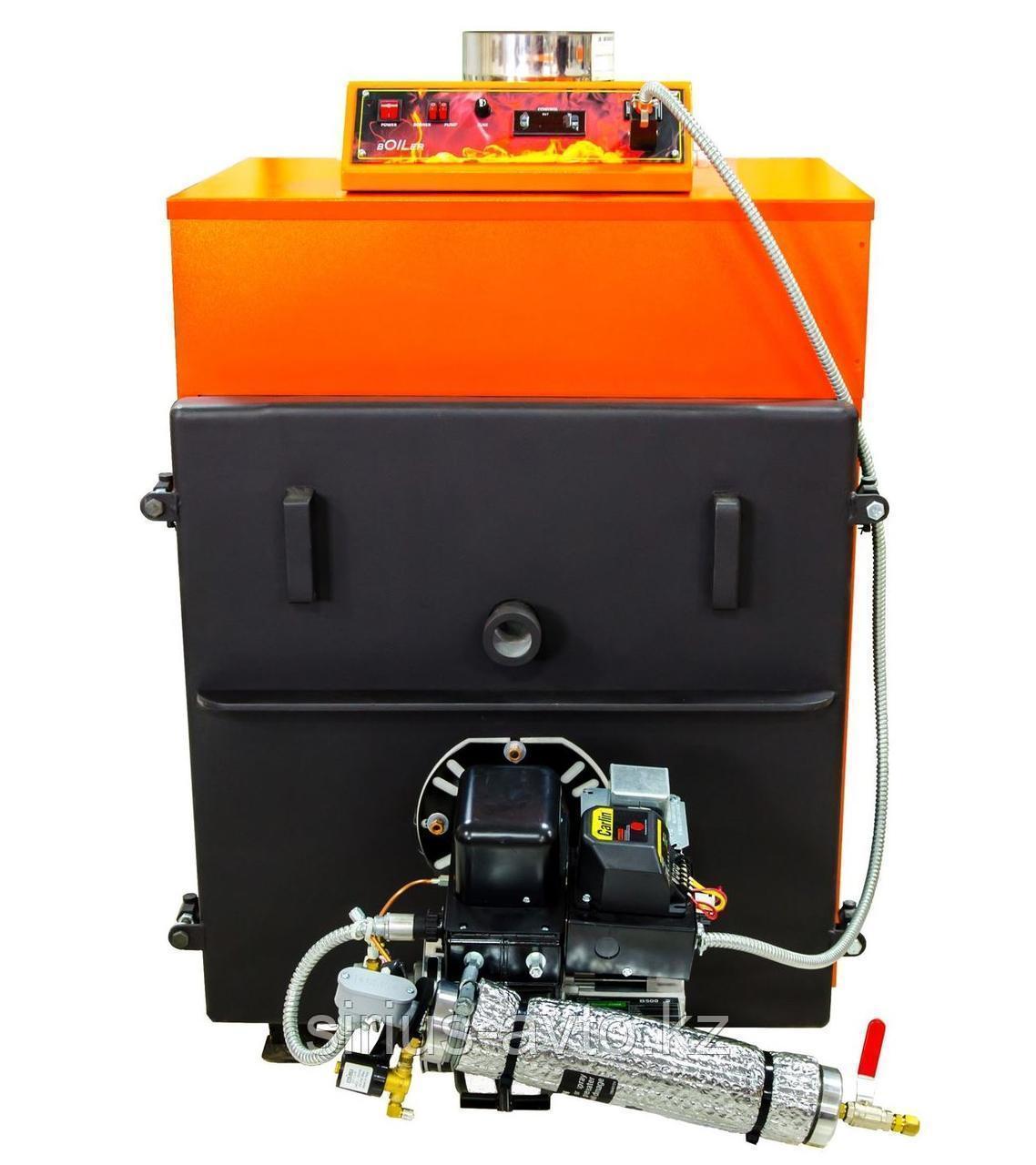 Boiler В - 60 (60кВт) c горелкой EnergyLogic Водогрейный котёл на отработанном масле
