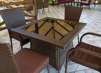 Комплект плетенной мебели