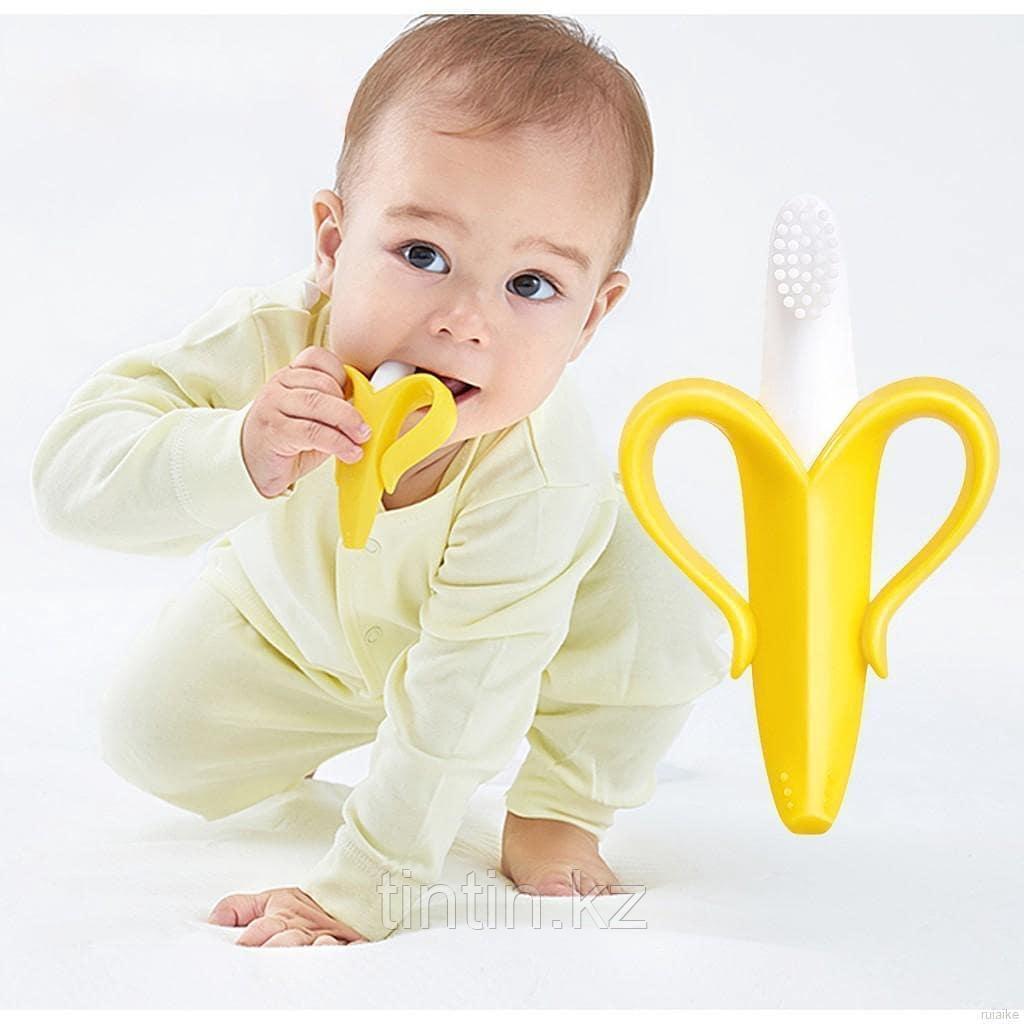 Банан-прорезыватель, игрушка-грызунок