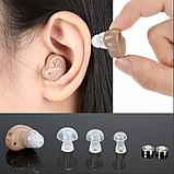 Компактный Усилитель слуха. Чудо-Слух. Слуховой аппарат., фото 3