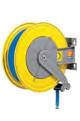 Автоматическая катушка для раздачи воды неповоротная Meclube F-550 150°С 400 БАР