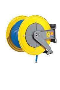 Автоматическая катушка для раздачи воды неповоротная Meclube F-560 150°С 400 БАР