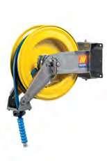 Автоматическая катушка для раздачи воды поворотная Meclube S-400 150°С 400 БАР