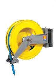 Автоматическая катушка для раздачи воды поворотная Meclube S-550 150°С 400 БАР