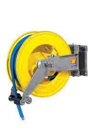 Автоматическая катушка для раздачи воды поворотная Meclube S-555 150°С 400 БАР