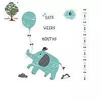 Муслиновая фотопелёнка 100% органический хлопок