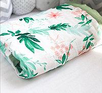 Муслиновый плед/одеяло четырехслойный 70% бамбук, 30% хлопок