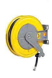 Автоматическая катушка для дизельного топлива неповоротная Meclube F-555 10 БАР