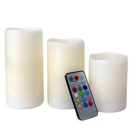 Набор светодиодных светильников Свечи 3 шт, фото 2