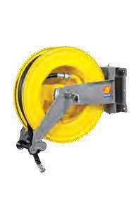 Автоматическая катушка для дизельного топлива поворотная Meclube S-550 10 БАР