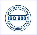 Сертификат системы менеджмента качества ISO 9001 в г.Шымкент, фото 2