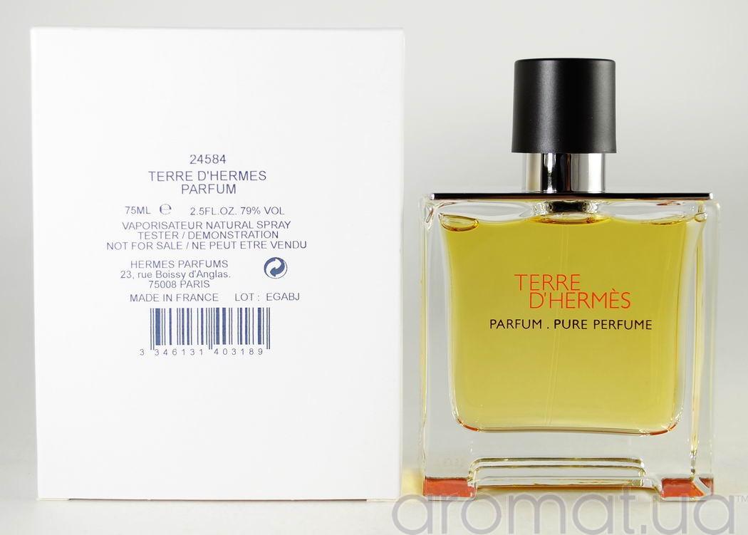 Terre d'Hermes Parfum Hermès для мужчин 100 мл (тестер)