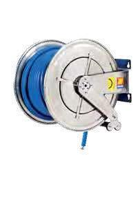 Катушка для воды автоматическая неповоротная из нержавеющей стали AISI 304 Meclube FX-560 200 БАР