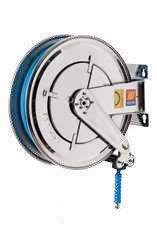 Катушка для воды автоматическая поворотная из нержавеющей стали AISI 304 Meclube FX-550 200 БАР