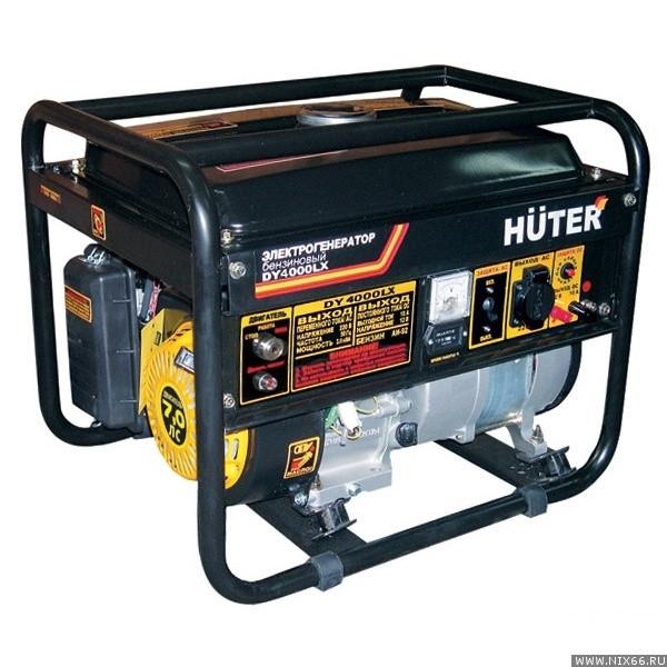 Электрогенератор Huter DY4000LX (электростартер)