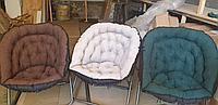 Кресло круглое складное мягкое