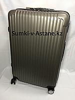 Большой пластиковый дорожный чемодан на 4-х колесах Longstar.Высота 74 см,ширина 45 см, глубина 27 см., фото 1