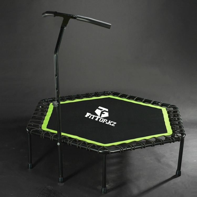 Фитнес батут для джампинга с ручкой FitTop 1500