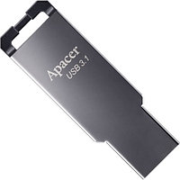 USB-накопитель, Apacer, AH360, AP16GAH360A-1, 16GB, USB 3.1, Серый