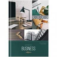 "Бизнес-блокнот А5 120л., OfficeSpace ""Stylish workplace"", глянцевая ламинация ББ5т120_23044"