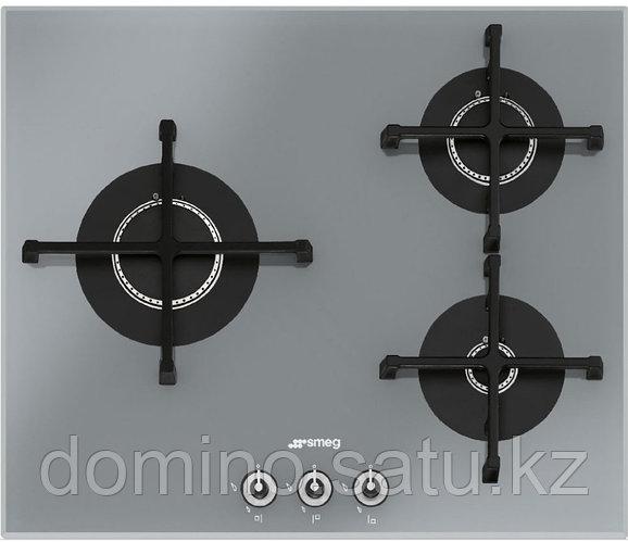 Варочная панель Smeg PV163S серебристая 3 газовые горелки