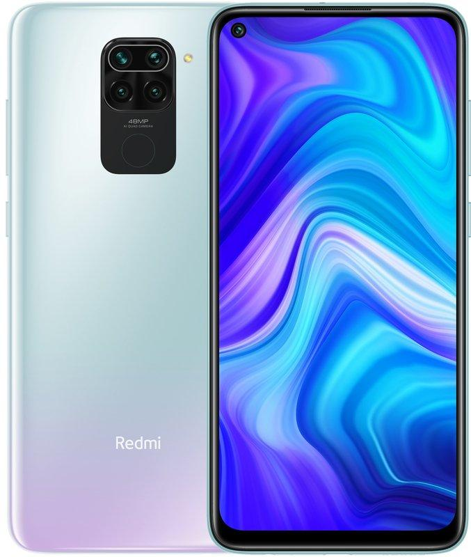 Смартфон Xiaomi Redmi Note 9 EU 3/64GB Polar White
