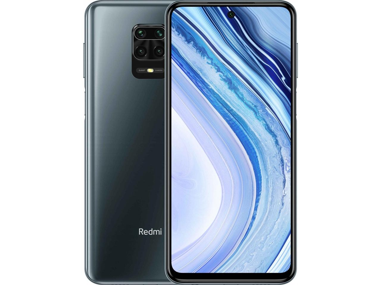 Смартфон Xiaomi Redmi Note 9S 6+128Interstellar Grey