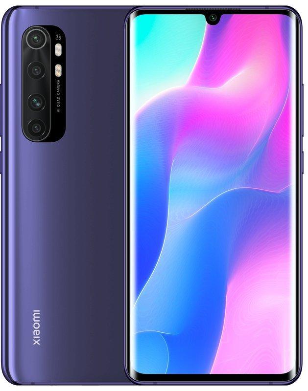 Смартфон Xiaomi Mi Note 10 Lite EU 6/64 Nebula Purple