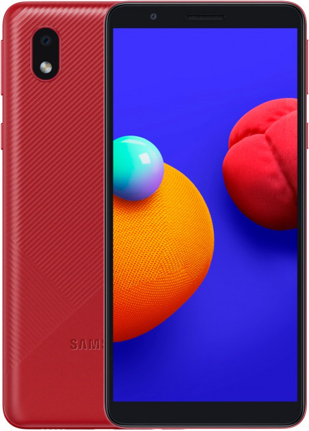 Смартфон Samsung A013 Galaxy A01 Core Красный