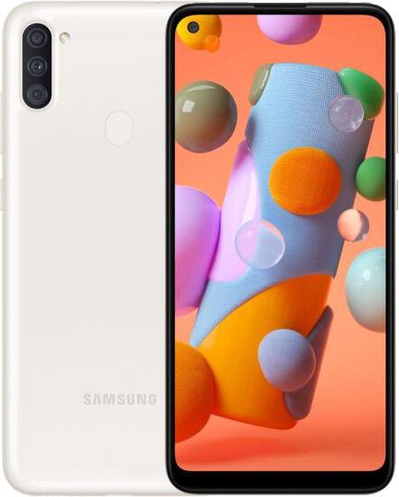 Смартфон Samsung Galaxy A11, White