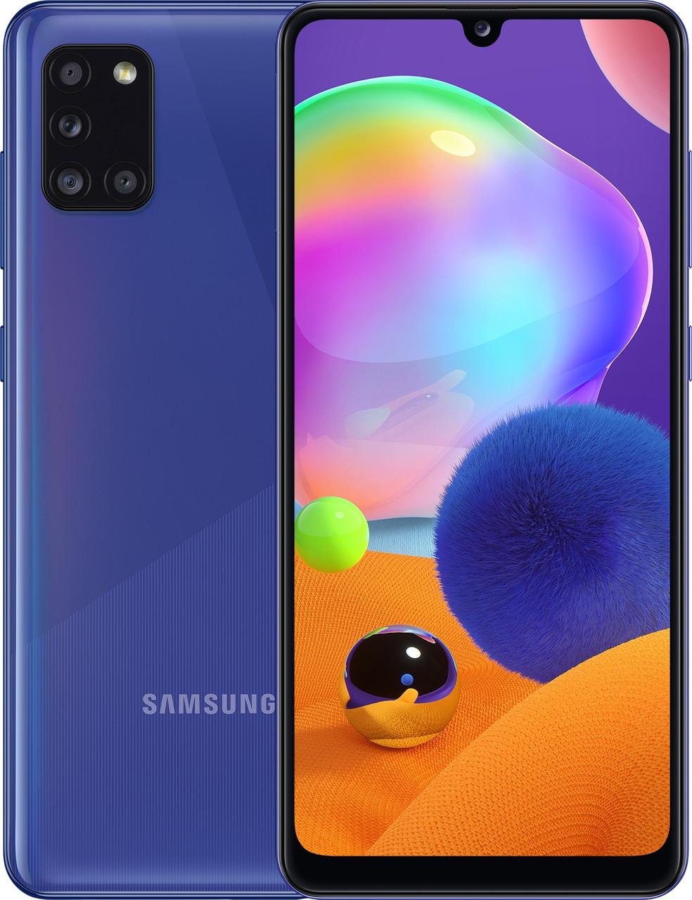 Смартфон Samsung Galaxy A31 Синий