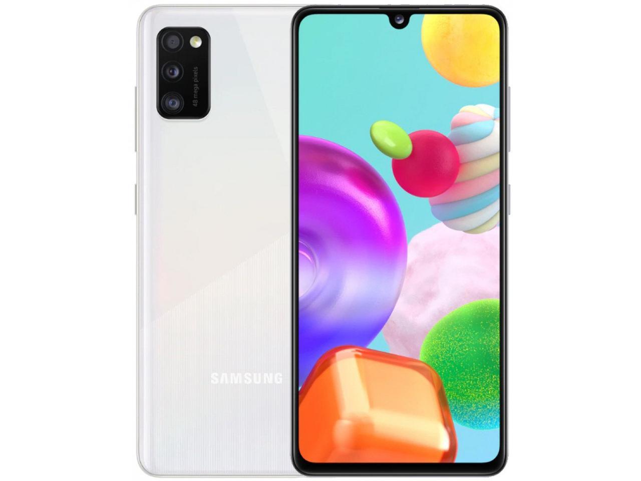 Смартфон Samsung Galaxy A41 64гб Белый