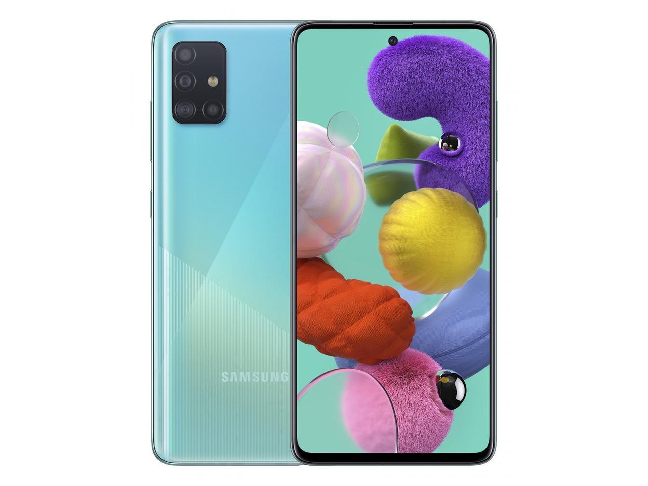 Смартфон Samsung Galaxy A51 64гб Синий