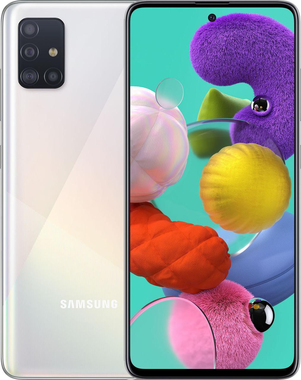 Смартфон Samsung Galaxy A51 64GB, Silver