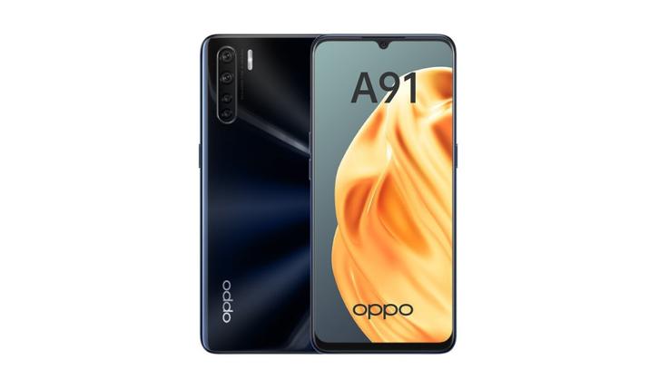 Смартфон OPPO A91 Lightening Black (CPH2021), фото 2
