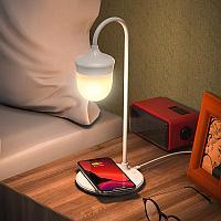 Беспроводное зарядное устройство настольная лампа BQ8 Borofone