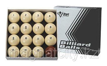 Бильярдные шары для русского бильярда Старт 60 мм