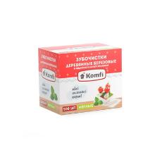 Зубочистки в инд. упаковке Komfi (500шт/уп.- 50уп/кор.)