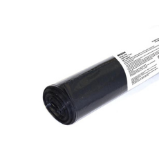 Мешки для мусора 10шт/рулон ПВД 120л А черные Extra