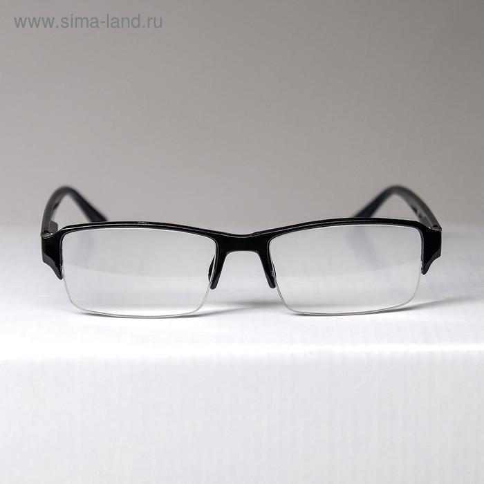 Очки корригирующие 0056, цвет черный, отгибающаяся дужка, -2 - фото 1