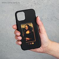 Чехол для телефона iPhone 11 pro «Мона Лиза», 7,14 х 14,4 см