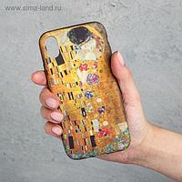 Чехол для телефона iPhone XR «Поцелуй», 7,6 х 15,1 см